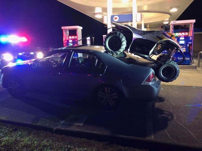 South Windsor Cops Intercept Bad Idea ATV Transport
