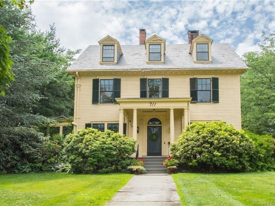 West Hartford Home With Celebrated Landscaping On The Market
