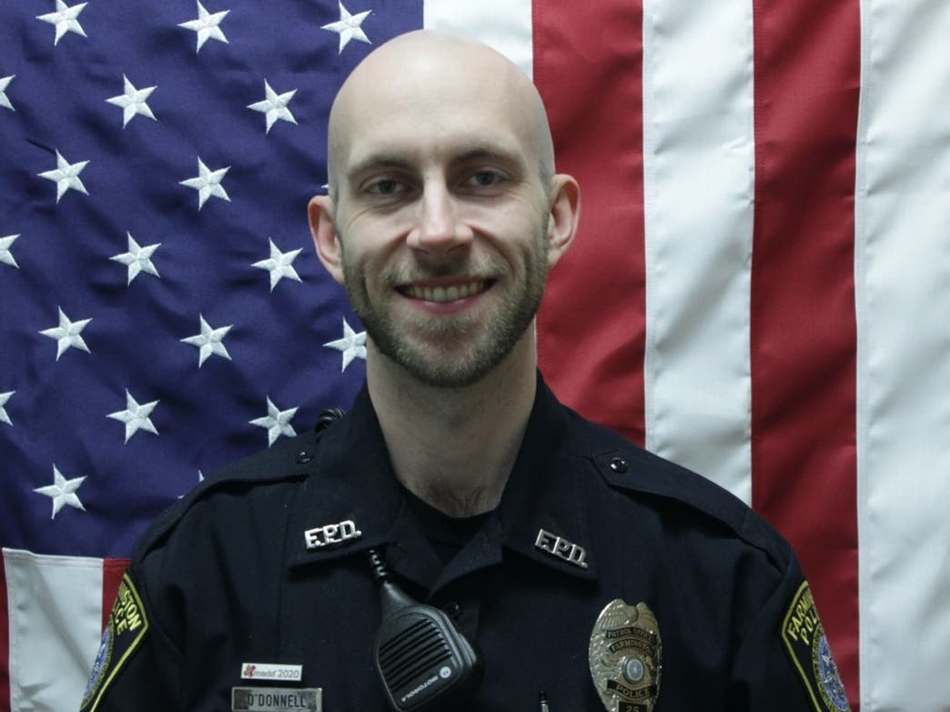 Farmington Officer Hit By Stolen Car Recovering After Surgery