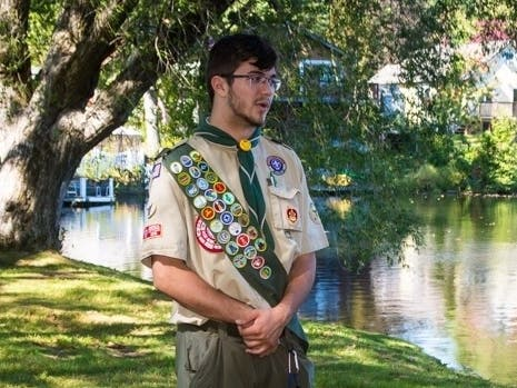 Heroic Teen Who Drowned Honored By Enfield Boy Scouts Project