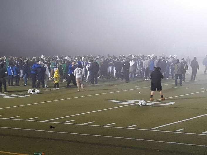 Last Second Heroics Lift Newtown to Football Title