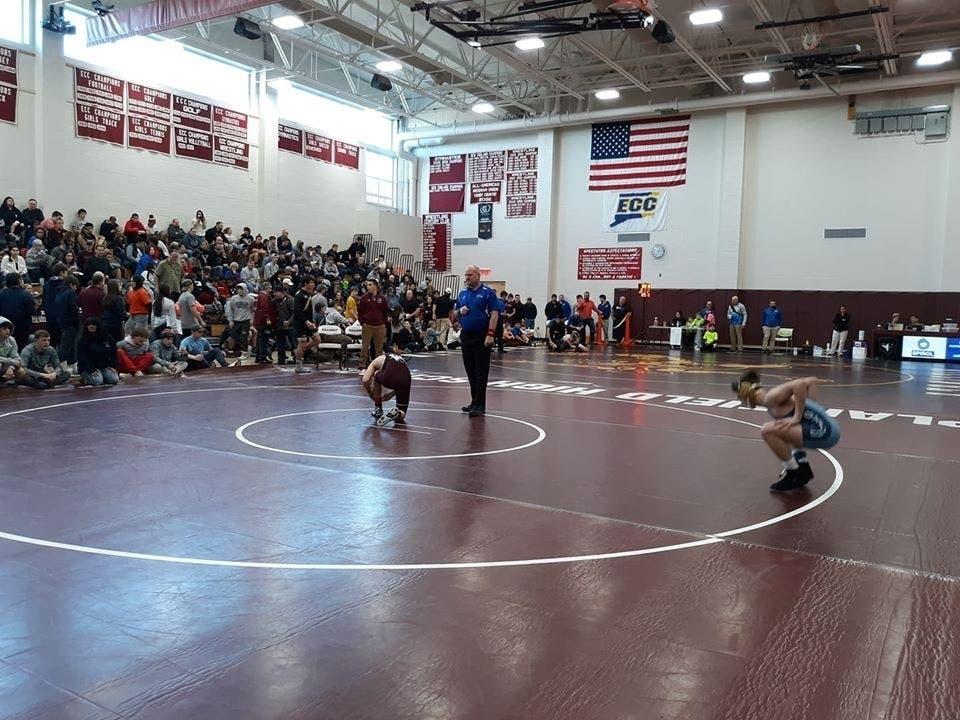 Wrestler From Hall High School Wins Class LL Title