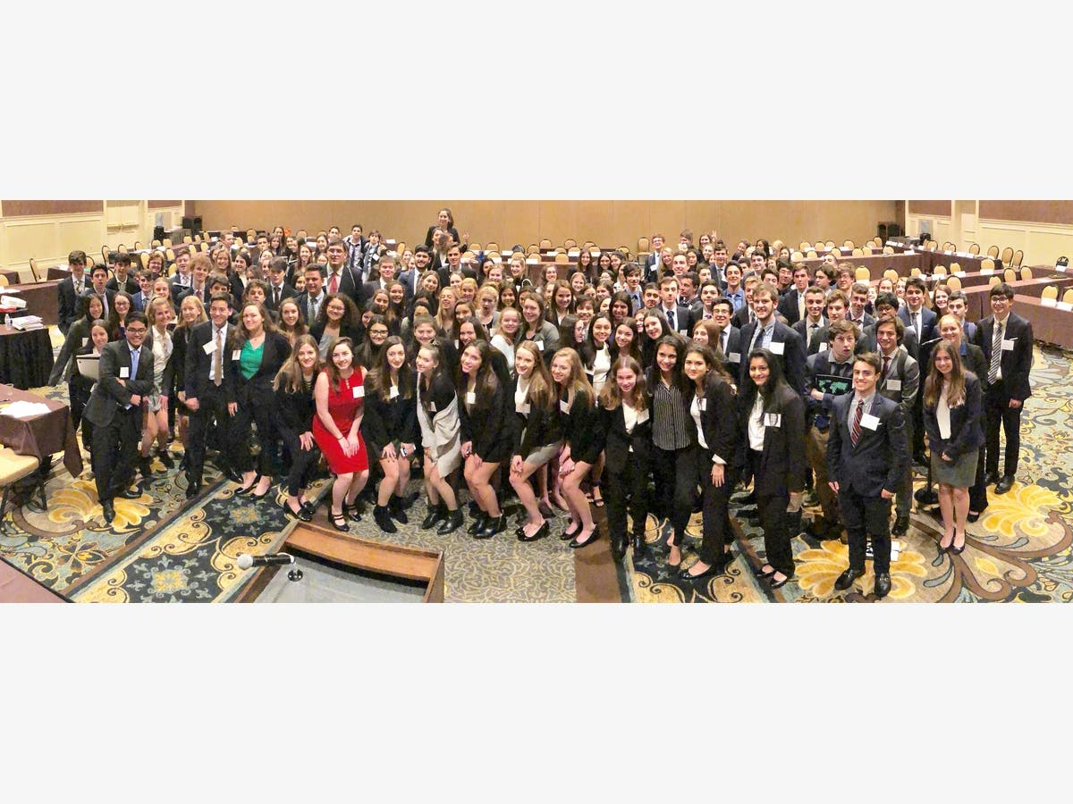 Westfield High School Earns Award At Model UN Conference