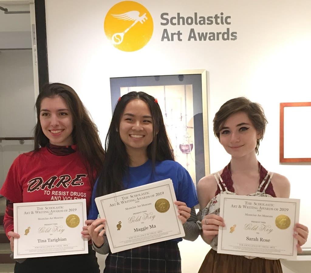 Millburn High School Students Earn Scholastic Art Awards   Millburn