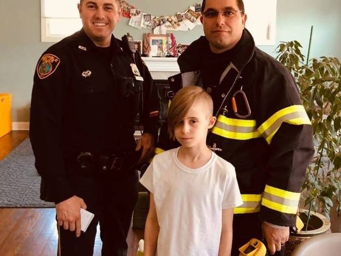 Quick-thinking Westfield Boy Saves Home From Fire