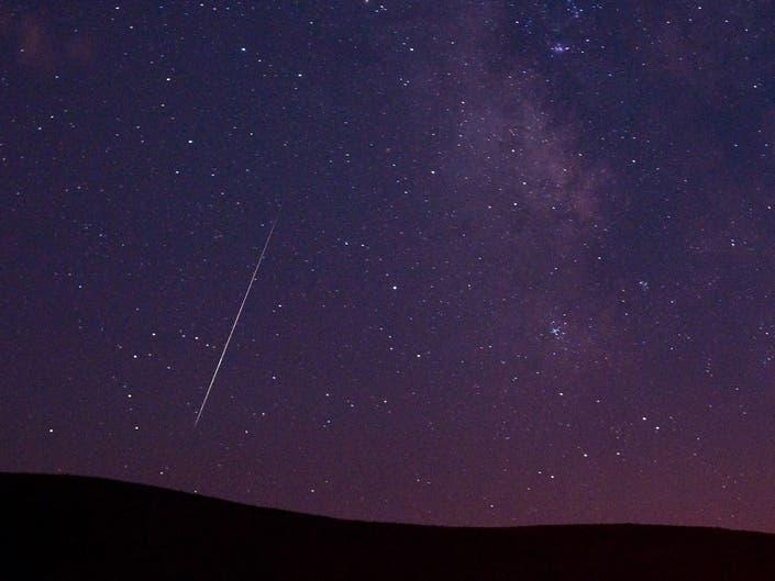 Rare Meteor Shower Outburst Possible Over NJ Thursday