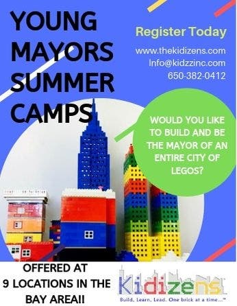 Kidizens Young Mayor Summer Camp 2019 - Few Spots remaining! - Mountain View, CA Patch