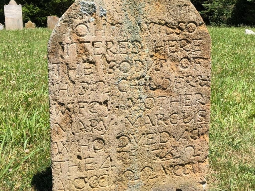 Oldest Existing Marked Grave Site in the entire Shenandoah Valley ...