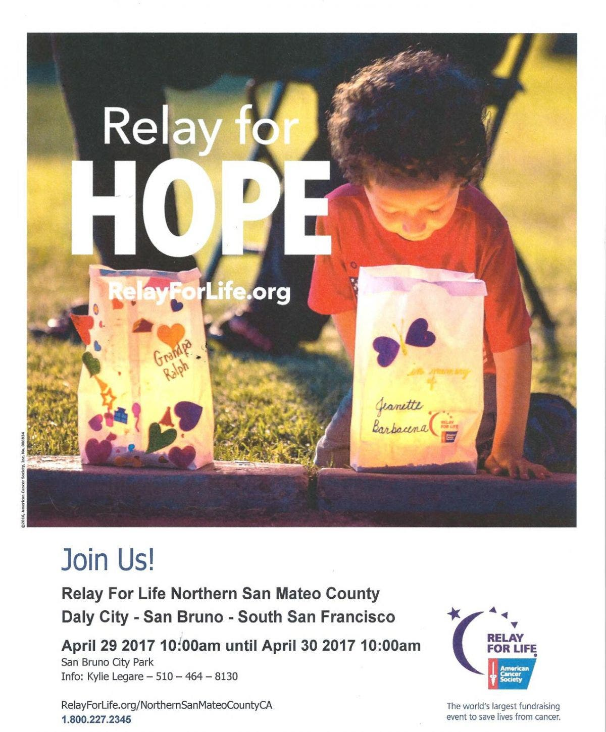 Riechel Reports Your Relay 4 Life Donations Make A