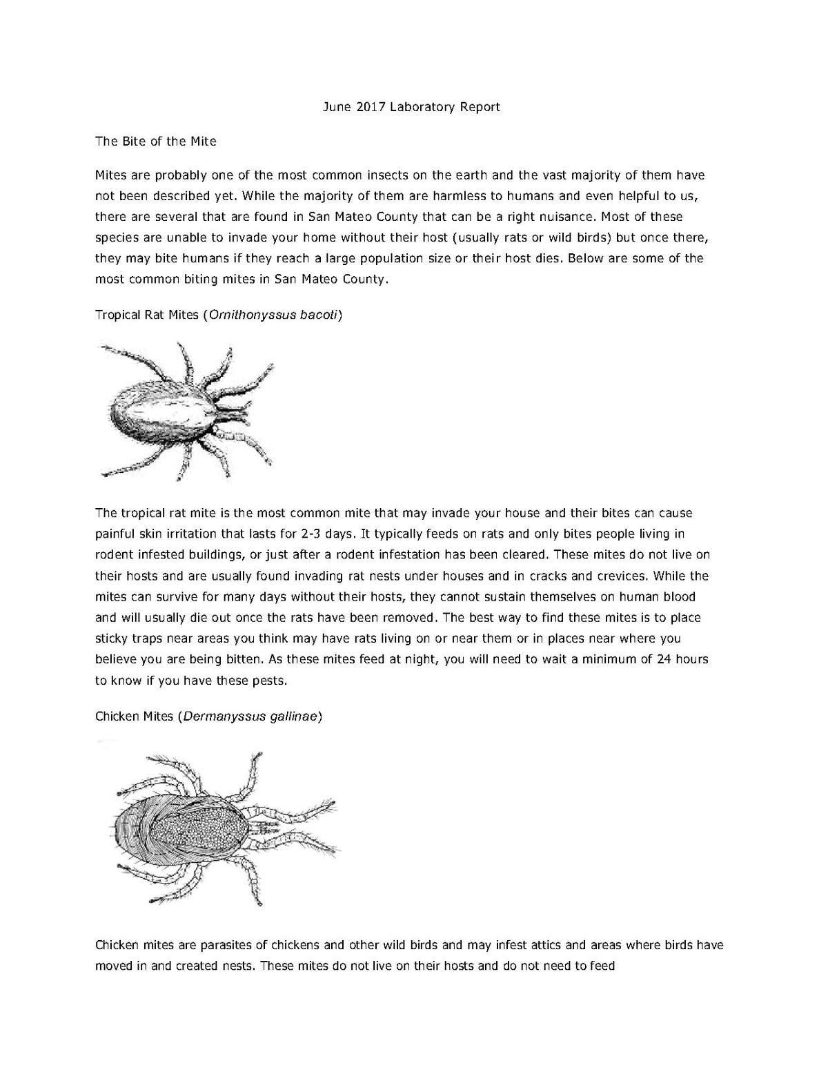San Mateo County CA Mosquito & Vector Control District