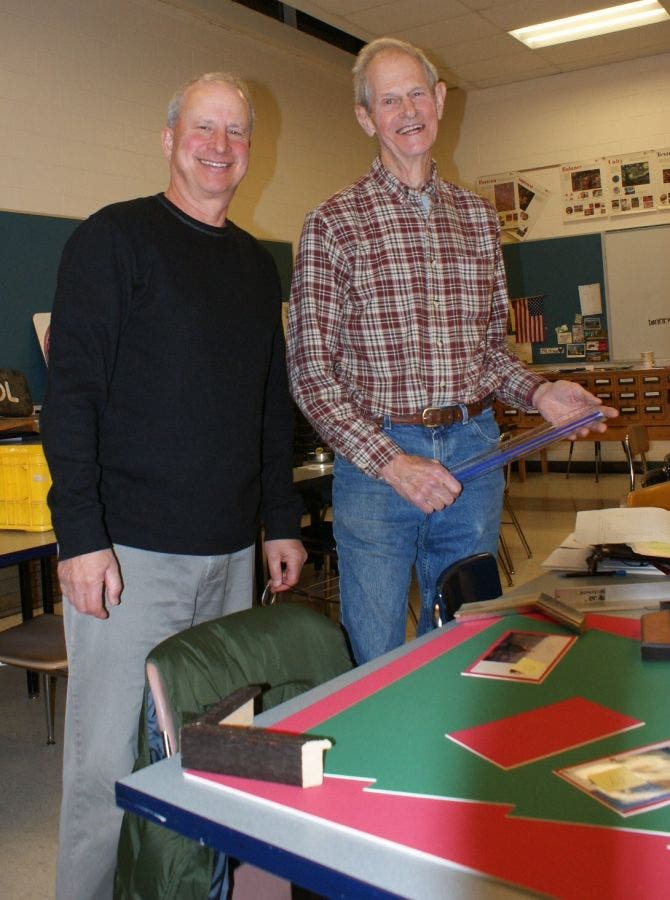 Pictures In Our Picture Framing Course