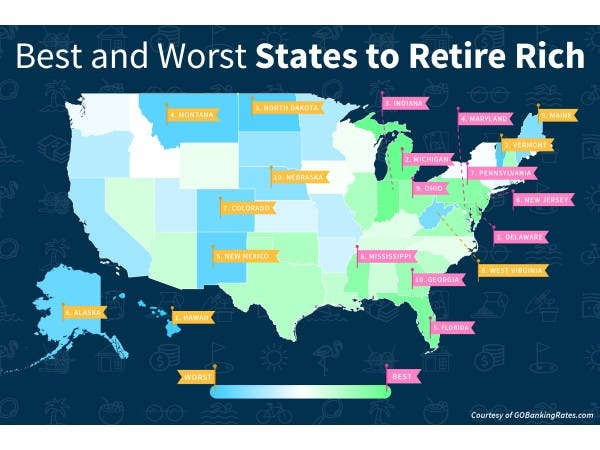 Florida Is The 5th Best State For Retiring Rich Land O Lakes Fl