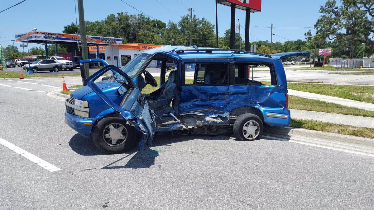 Fire Truck, Van Collision Results in Multiple Injuries | New