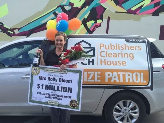 St  Pete Woman Wins $1 Million From Publishers Clearing House | St