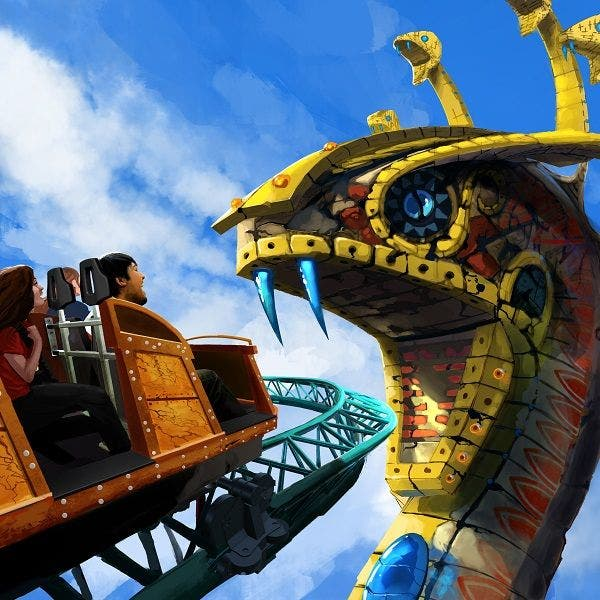 Busch Gardens Cobra S Curse Up For National Honors Tampa