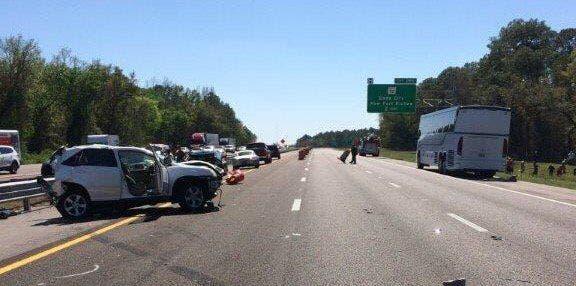 Bus Carrying Ohio Baseball Team Crashes On I-75 In Florida