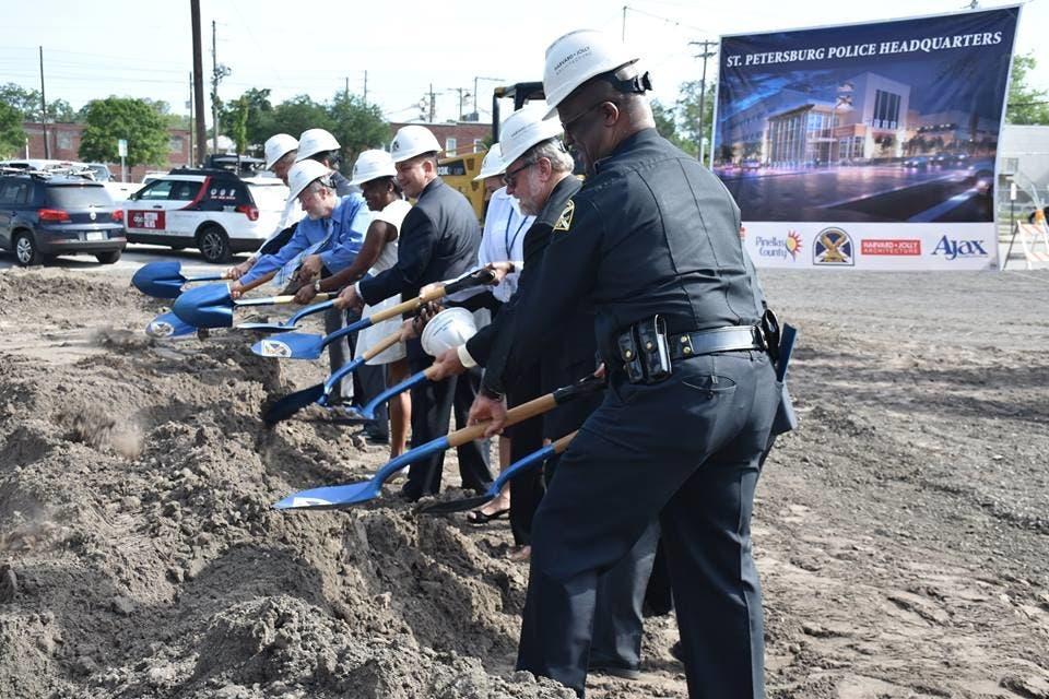 St  Pete Police Break Ground On New Headquarters | St  Pete