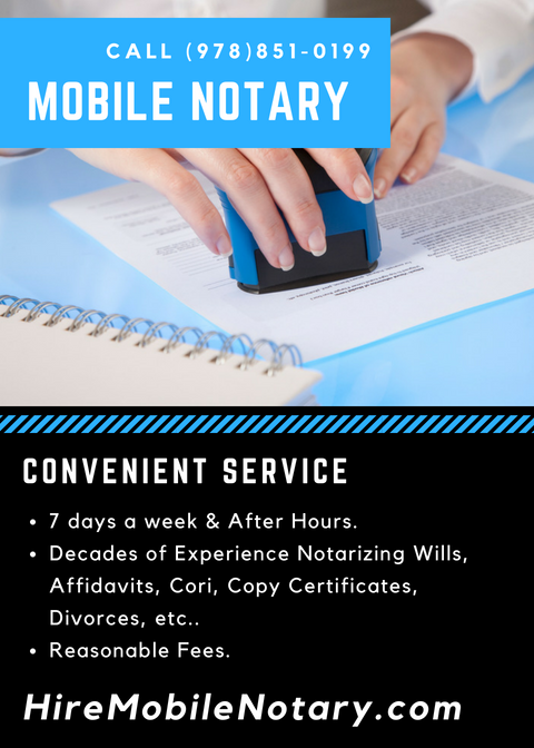 Mobile Notary Public  Notary Public Comes To You