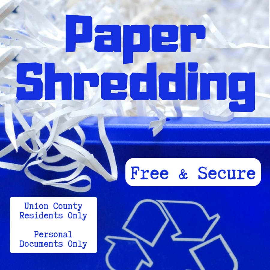 Union County's Mobile Document-Shredding Events Kick Off March 30