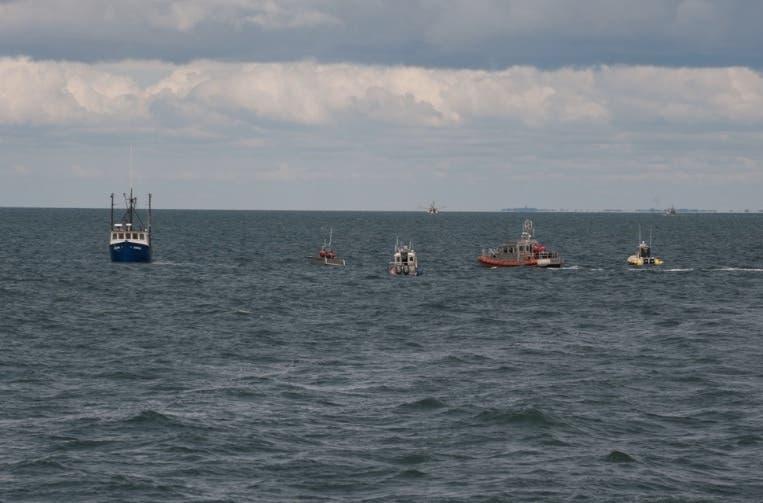 Cape Cod Boat Fire: 2 Fishermen Saved By Coast Guard   Martha's