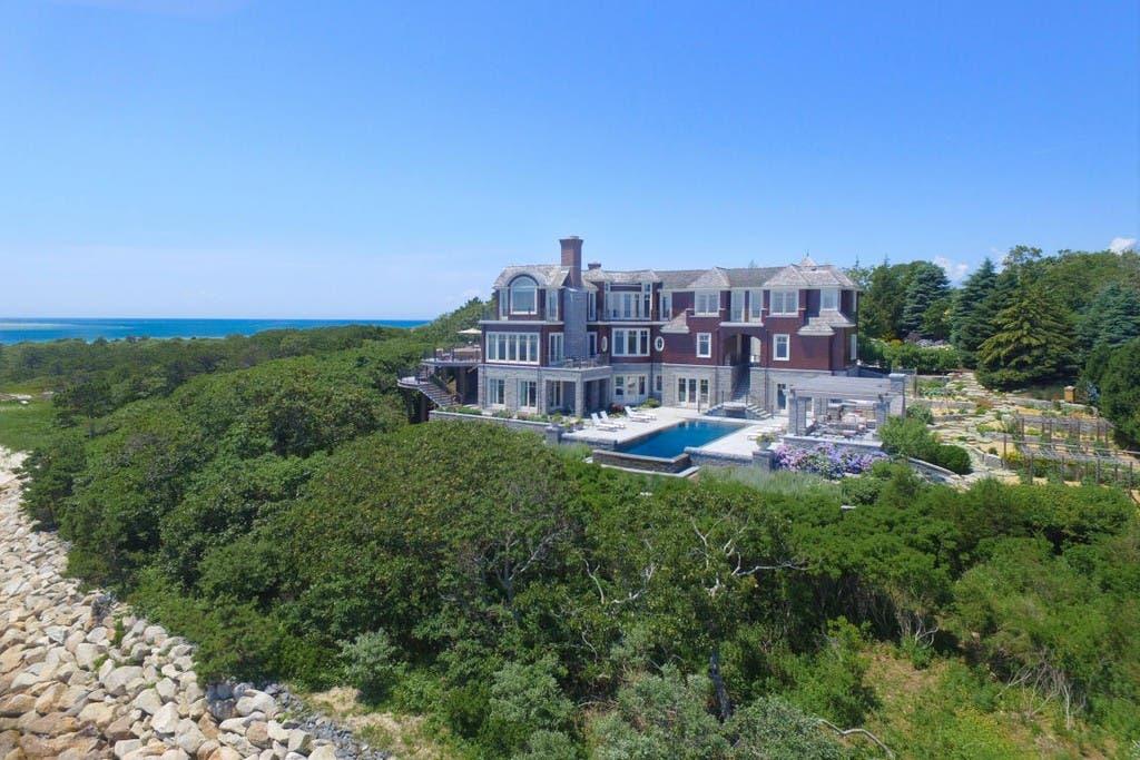 $20M Cape Cod Mansion: Wine Cave, Pool, 'Breathtaking' Views