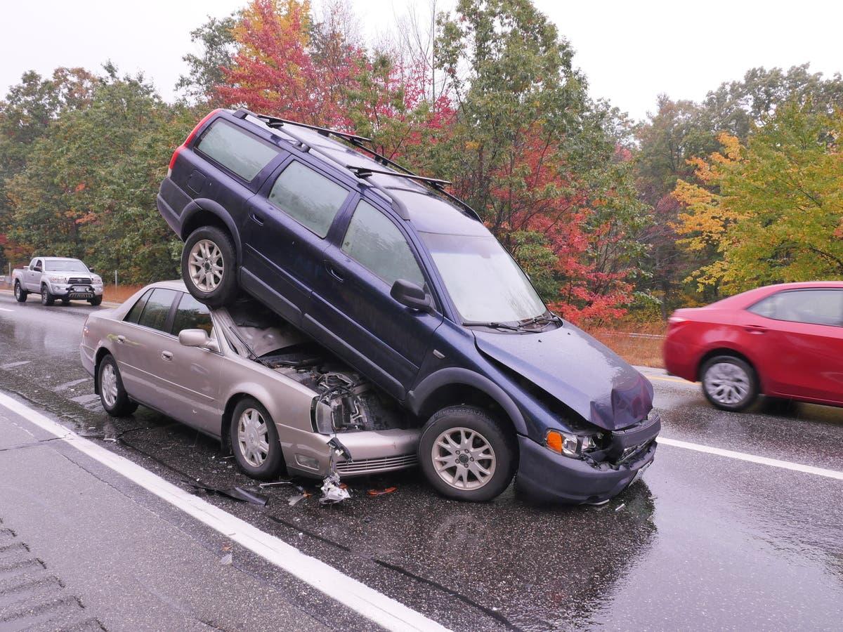 Chain-Reaction NH Crash On I-89: Police | Nashua, NH Patch