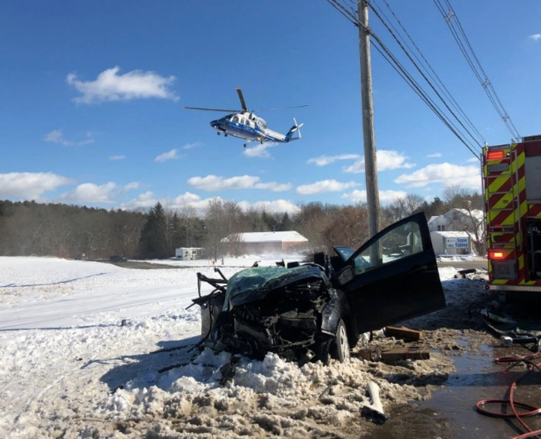 Serious Littleton Crash Near Tubing Park: Victim Medflighted
