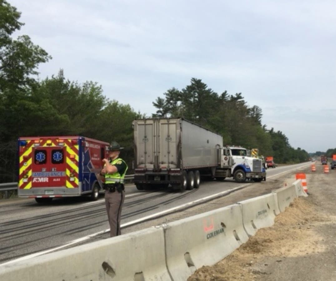 NH I-93 Shut Down After Woman Hits Truck: Police | Londonderry, NH Patch