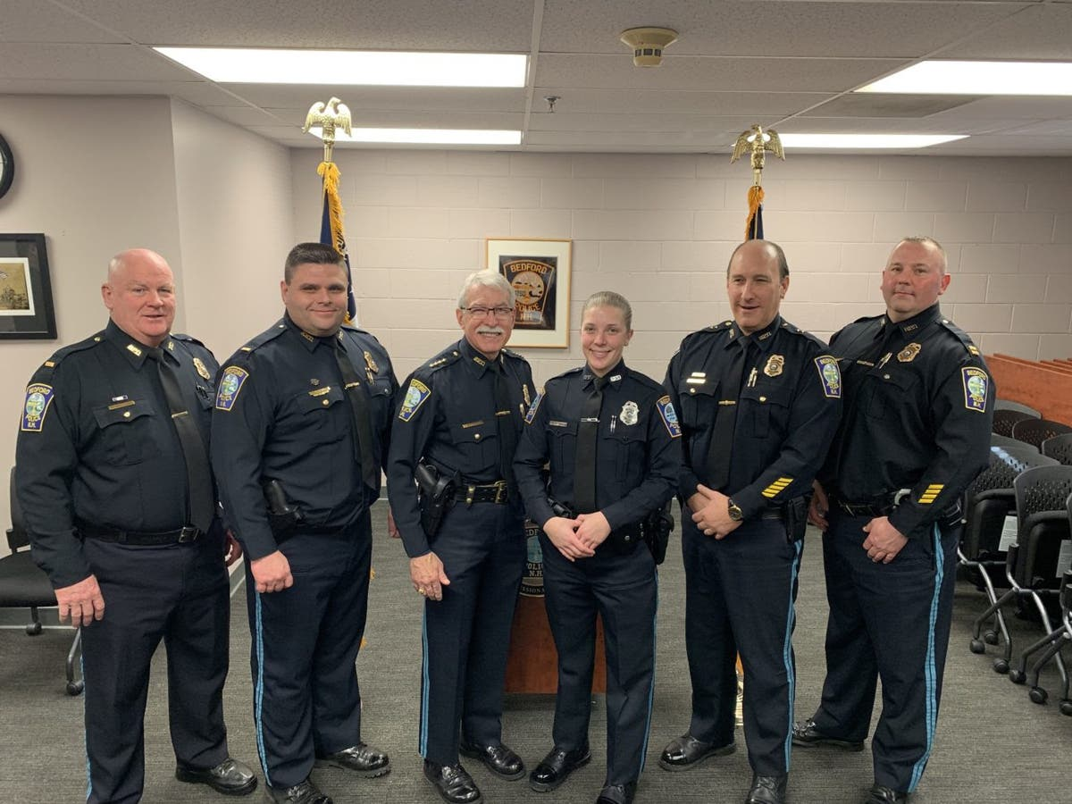 Bedford Police Officers Honored For Saving 3 Lives | Bedford, NH Patch