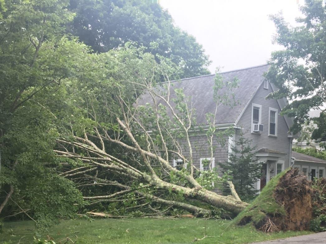 Tornado Wreaks Havoc On Cape Cod