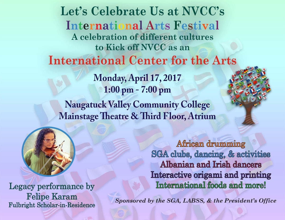 NVCC Hosts Dancers, Musicians, and Artists for International