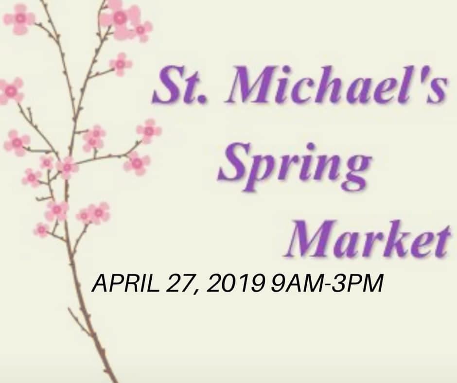 St  Michael's Spring Market   Naugatuck, CT Patch