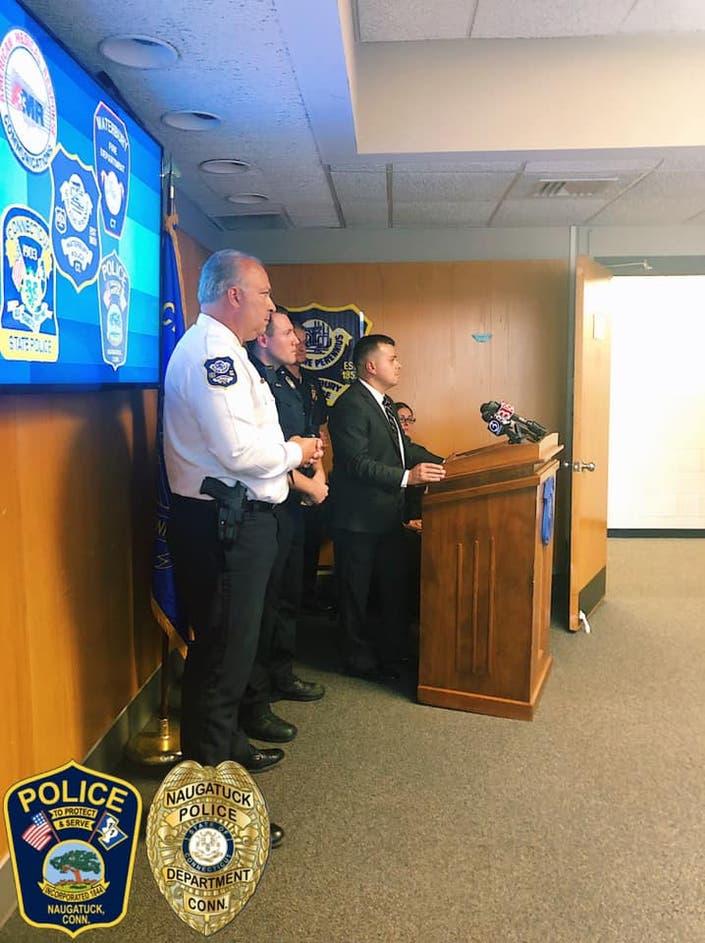 Naugatuck Detective Honored with Good Neighbor Award