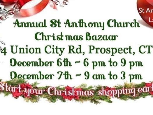 Ladies Guild Annual Christmas Bazaar At St Anthony S Naugatuck Ct Patch