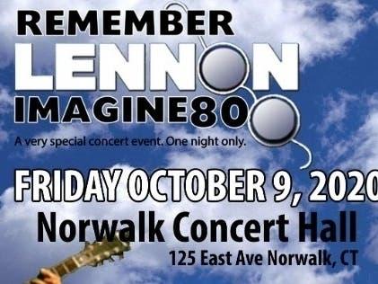 Connecticut Events September 2020.John Lennon Imagine 80 Tribute Concert Event Announced