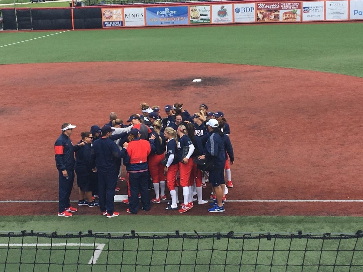 Team USA Softball Is In Rosemont | Skokie, IL Patch