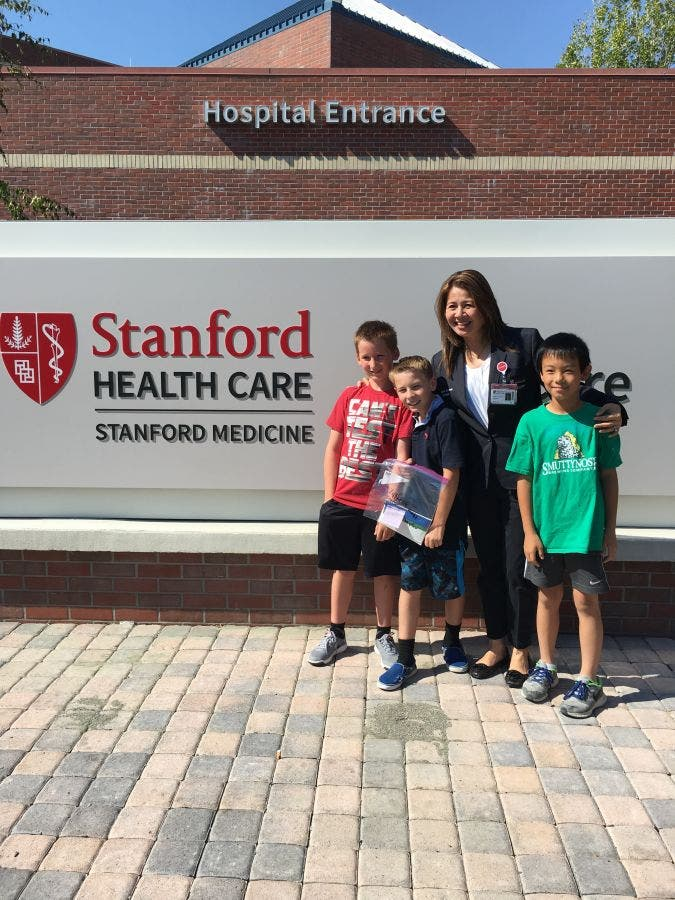 Students Raise Money For Stanford Health Care - ValleyCare Hospital