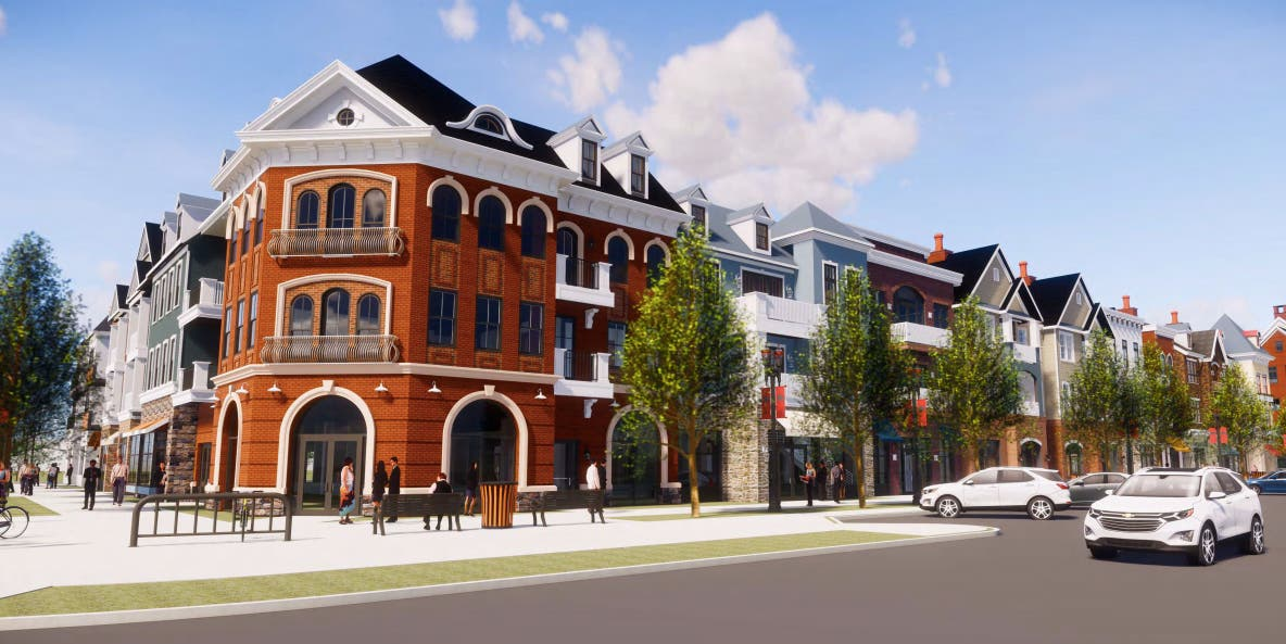 3-Building Retail, Residential Development Proposed In Doylestown