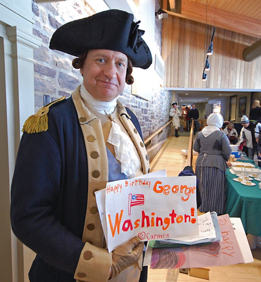 Park To Host George Washingtons 287th Birthday Party