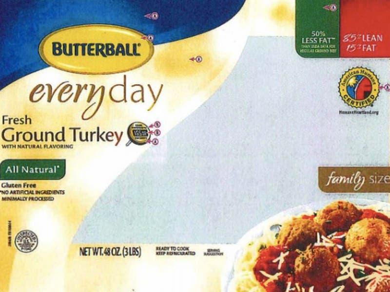 Ground Turkey Recalled In PA Over Salmonella Concerns