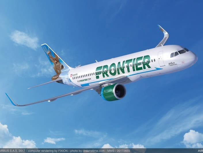 Frontier Adds New Route From Nearby Trenton-Mercer Airport