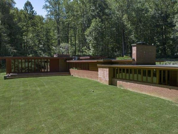 NJ Home Designed By Frank Lloyd Wright Back On Market For $1.5M