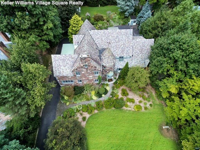 Ridgewood Tudor Features Stained-Glass Windows, Cooled ...
