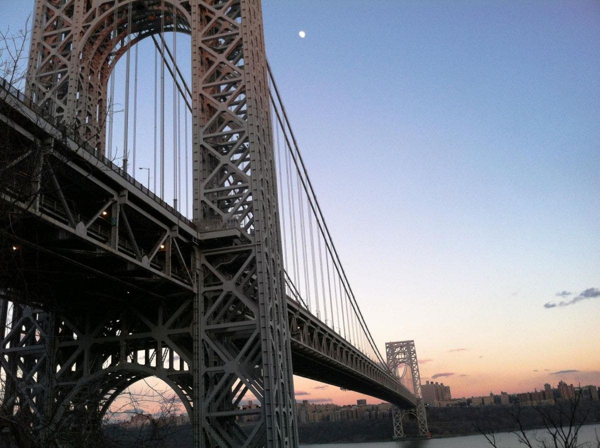 Major Delays On GWB Sunday Due To 3-Car Accident | Fort Lee, NJ Patch