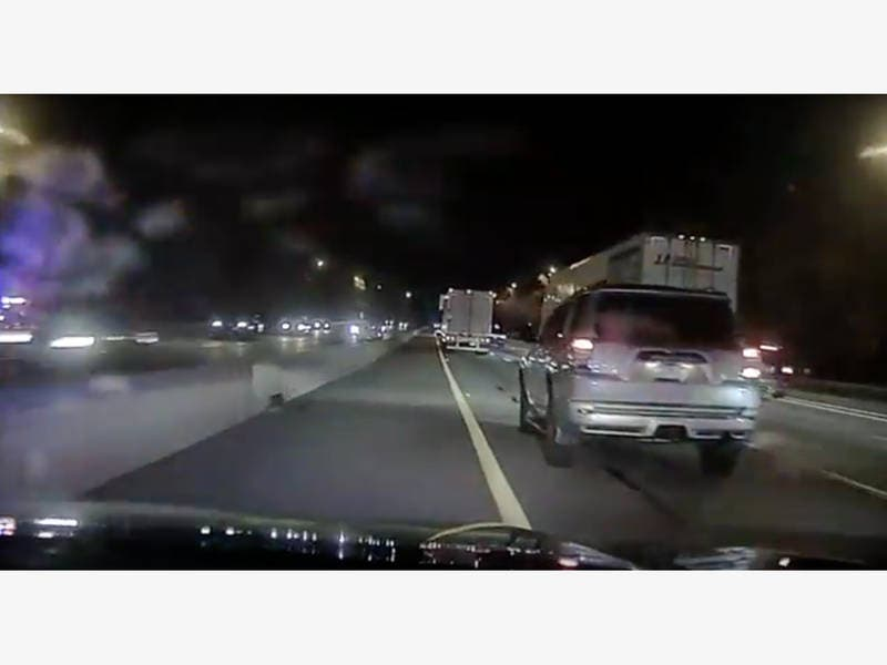Oakland Police Stop Man Driving Wrong Way On I 287 Video