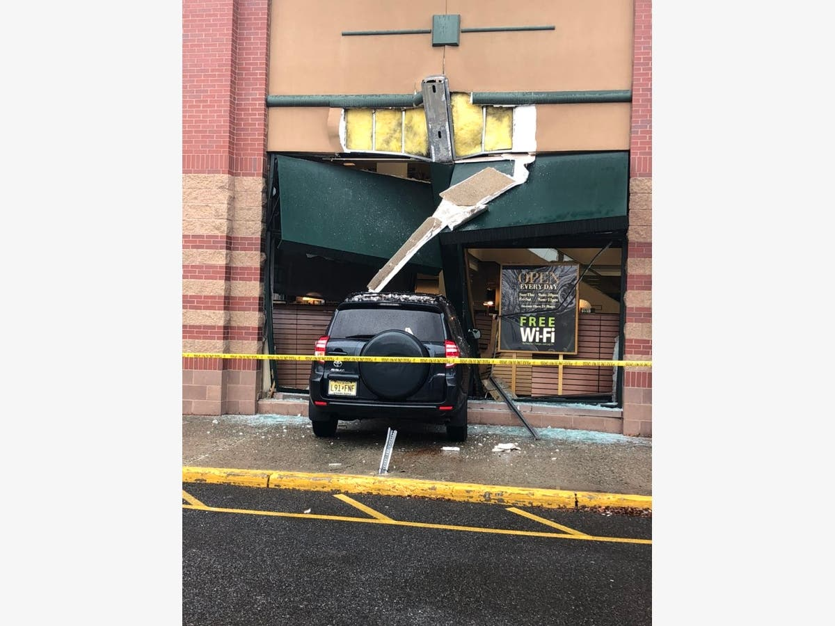 Car Crashes Into NJ Bookstore While Author Was There [Photos