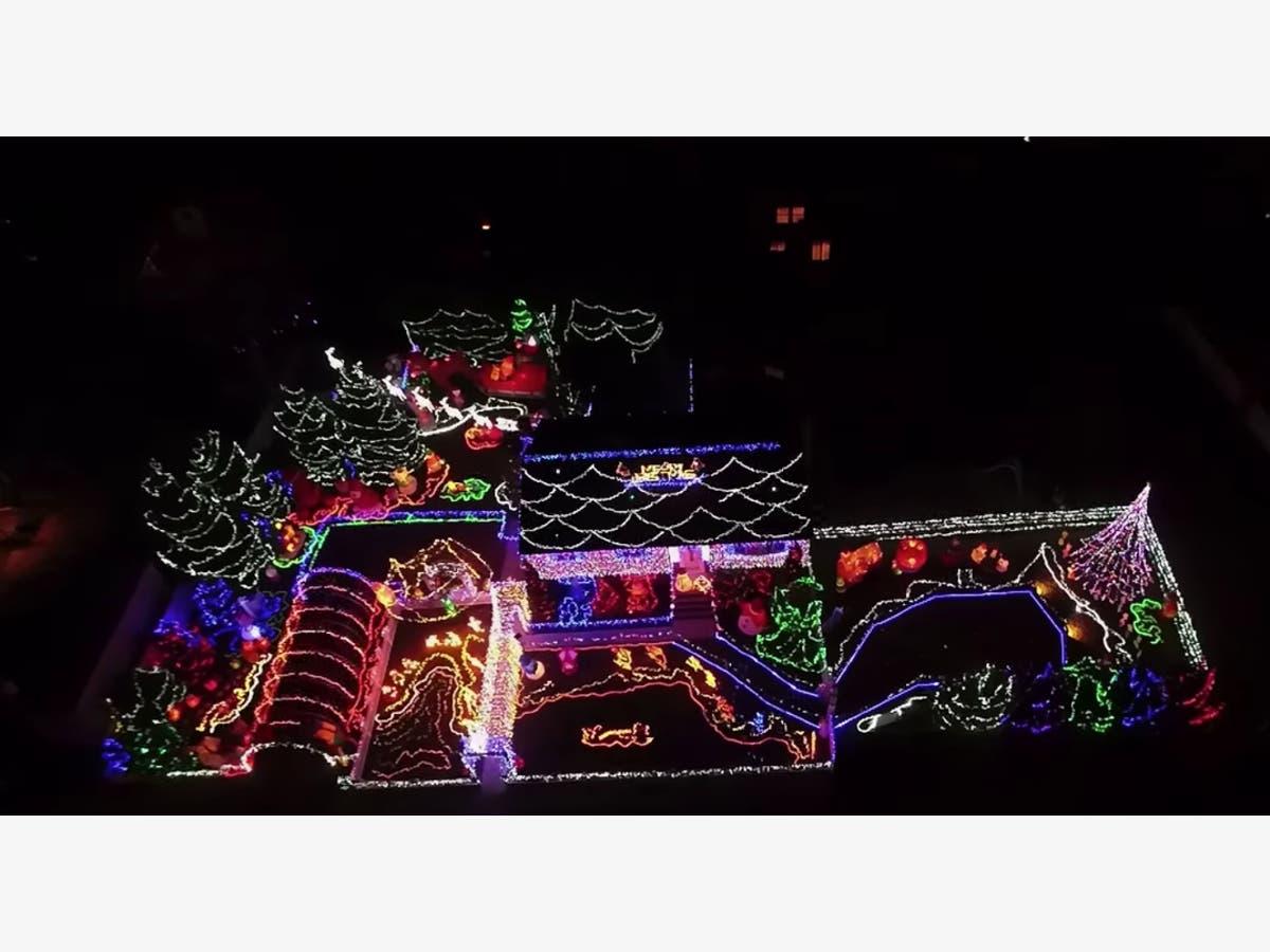 The Best Christmas Light Displays In Nj Wayne Nj Patch