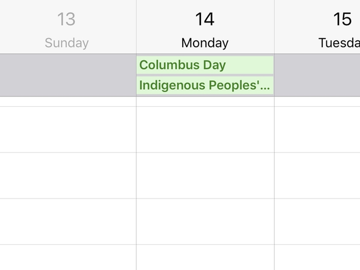 Columbus Day Could Become Indigenous Peoples Day In Glen Rock