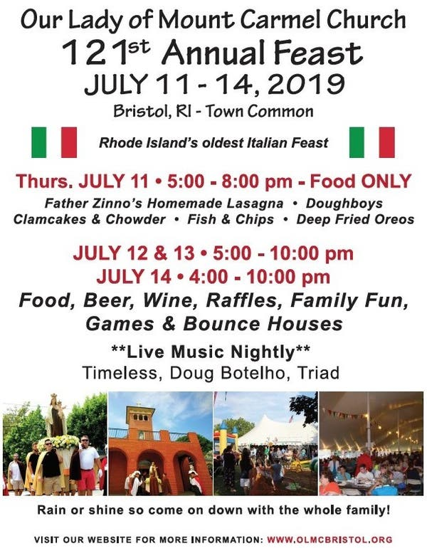 Jul 14 | Our Lady of Mount Carmel 121st Annual Feast ...