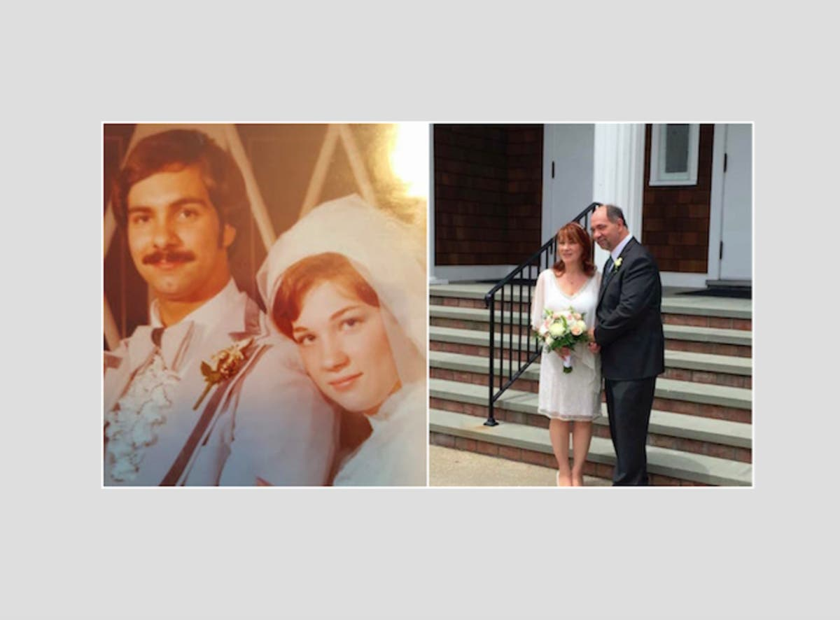 Couple Celebrates 40 Years, Renews Vows: A Love Story | North Fork